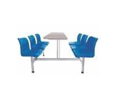 六人不锈钢餐桌