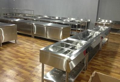 不锈钢厨房设备使用误区以及保养